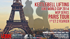 Kettlebell world cup 2014, Paris