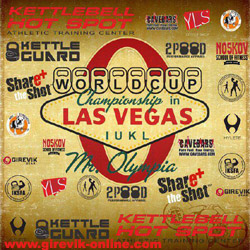 World Kettlebell Cup 2014 on Mr. Olympia, Las-Vegas