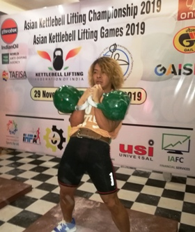 2nd Asian Championship of kettlebell sport, New Dheli, India