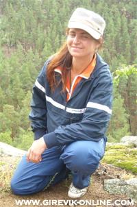 Tatiana Potyomkina, kettlebell lifter from Kazakhstan